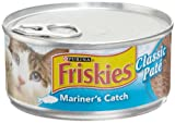 Friskies Cat Food Classic Pate, Mariner's Catch, 5.5-Ounce Cans (Pack of 24), My Pet Supplies
