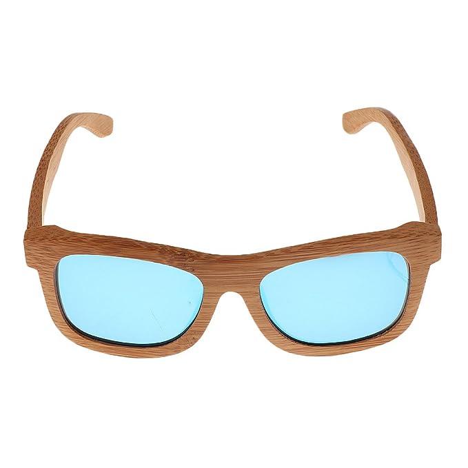 SM SunniMix Gafas De Sol Polarizadas De Madera De Alta Calidad De Madera Gafas De Madera