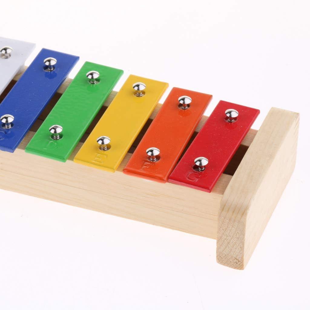 #N//A Feinstes Xylophon 15 Notizen F/ür Kleinkind Baby Spielzeug Zum Geburtstag