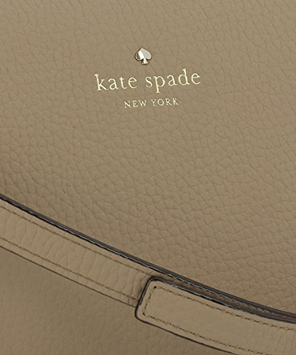 Mujer Bolso Kate PXRU7741248 De Spade Cuero Hombro Beige 6qx1pO5xw