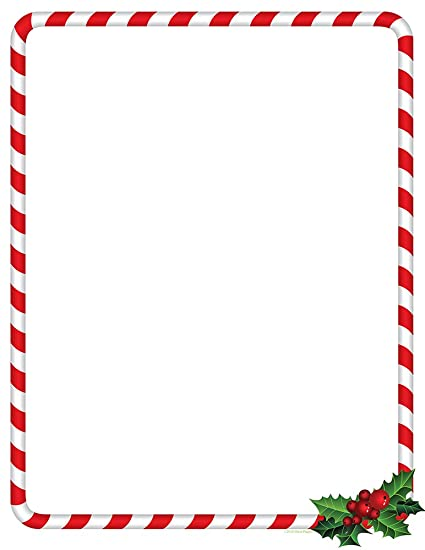candy cane christmas stationery paper and envelopes 25 sheets of