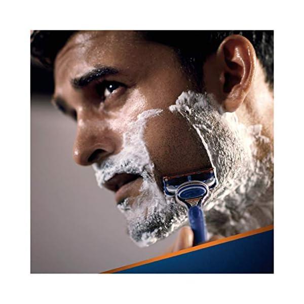 Gillette Fusion 5 Lamette di Ricambio per Rasoio, Confezione da 11 Testine + Manico Gratis 2 spesavip