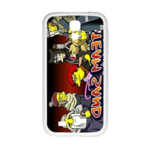 YYYT Naruto simpsons Case Cover For samsung galaxy S4 Case