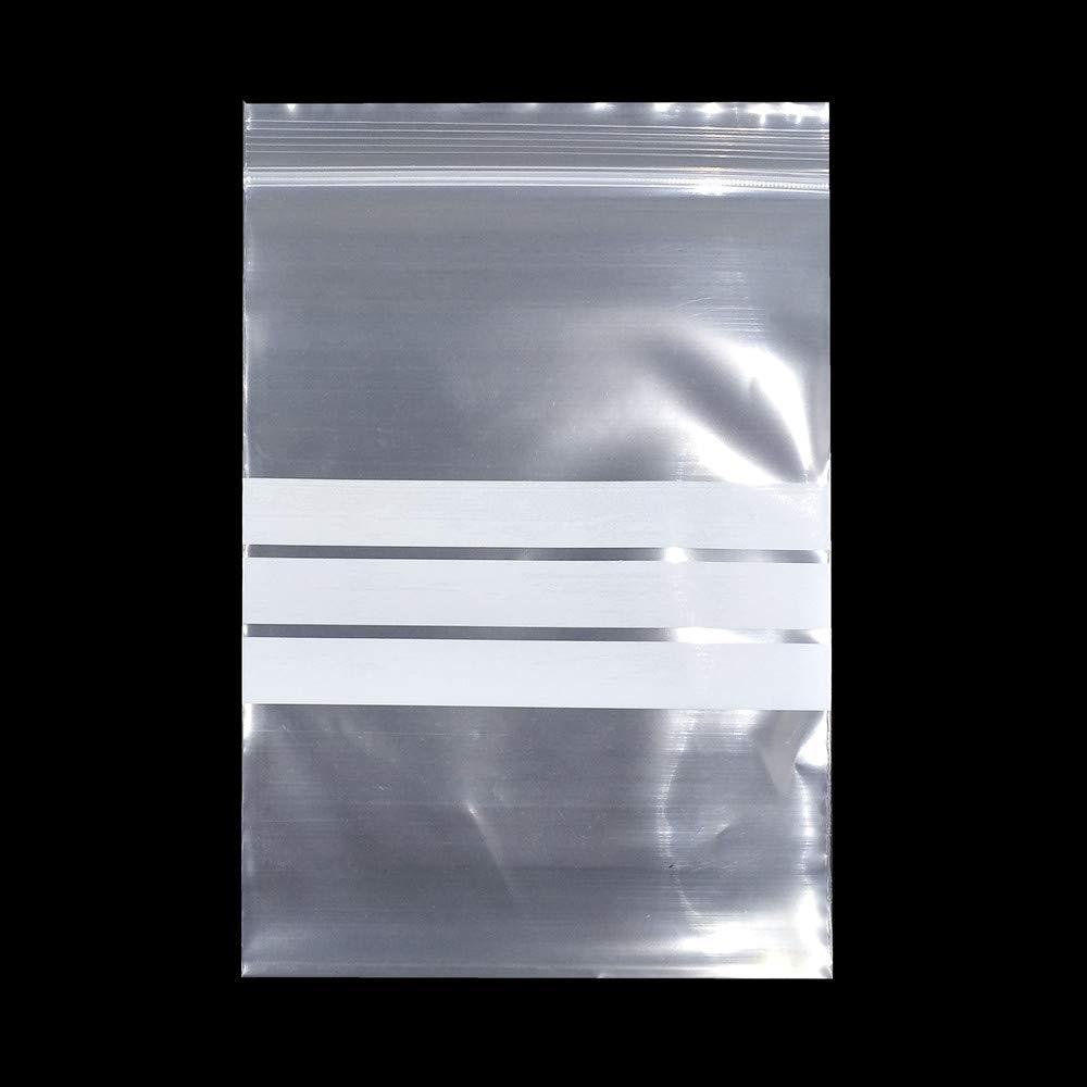 Bolsas de plástico transparente con cierre hermético de ...