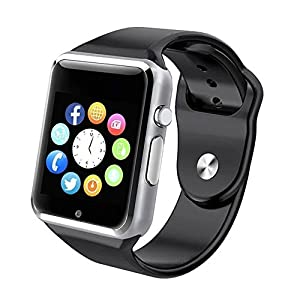 Bluetooth Smart Watch Touch Screen,YOKEYS Sweatproof Smartwatch Phone With SIM 2G GSM for Samsung Nexus6 Htc Sony and Android Smartphones Support Sleep Monitor, Push Message, Camera Unlocked Watch