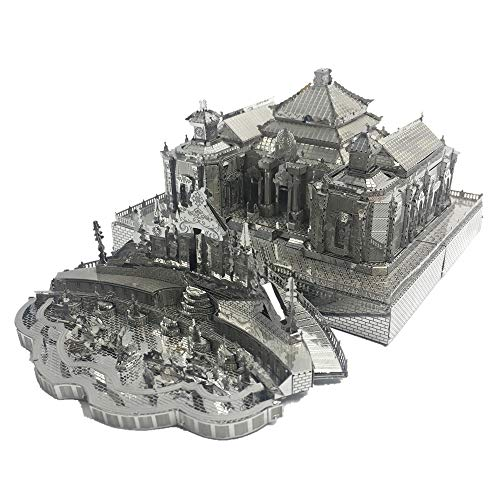 Dashuifa of Old Summer Palace 3D Metal Model Kits DIY Assemble Puzzle Architecture Building Toy