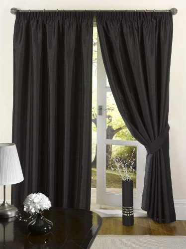 EDEN - CLEARANCE HALF PRICE - Lined Curtain - Tape Top - Trailing ...