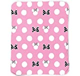 Jay Franco Disney Minnie Mouse XOXO Kids 46'' Inch x 60'' Inch Plush Throw Blanket (Official Disney Product)