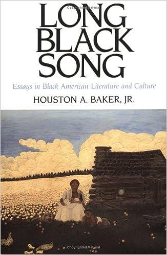 amazon com long black song essays in black american literature  amazon com long black song essays in black american literature and culture 9780813913018 houston a baker jr books