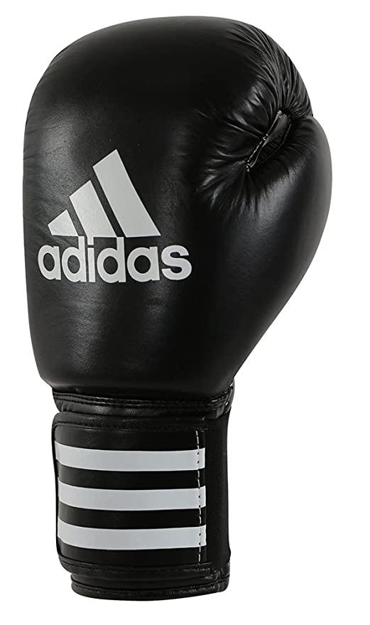 cheap for discount 8ec23 4eed1 adidas adibc01 Guanti da Boxe Uomo, Uomo, ADIBC01, Nero Bianco, Taglia