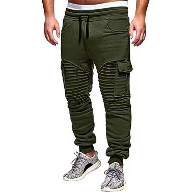Pantalones para Hombres Ropa De para Casuales Joggers Ocio Hombres ...