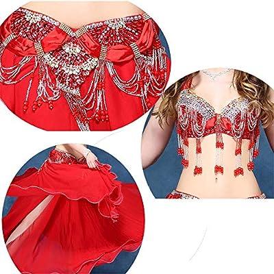 73d524ee4363 Disfraz de danza del vientre Belly Dance Costume Bra y falda ...