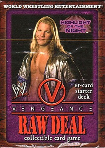 WWE Raw Deal Vengeance Starter Deck Highlight of the Night Chris Jericho by Comic Images