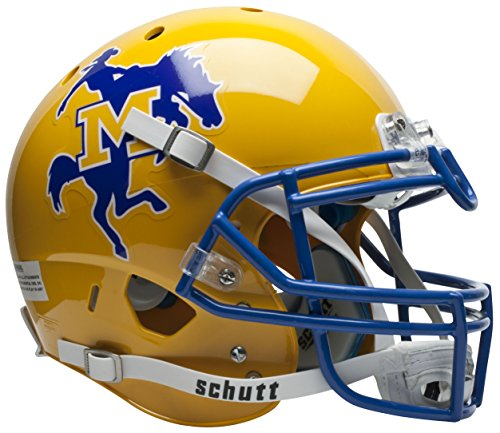 NCAA McNeese State Cowboys Authentic XP Football Helmet by Schutt