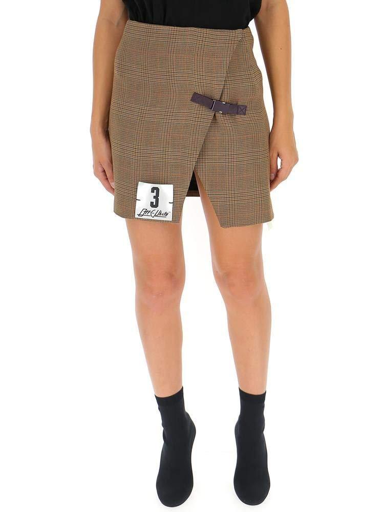 OffWhite Women's OWCC057F18B690539900 Beige Polyester Skirt