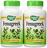 Nature's Way Fenugreek Seed, 610 Mg (2 Pack)