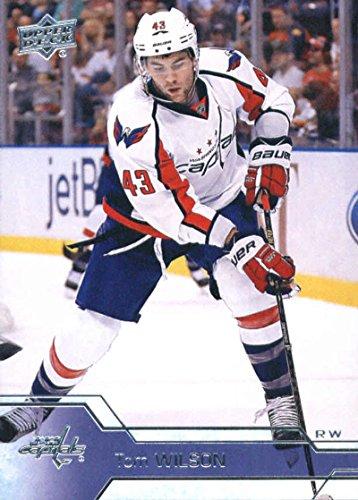 2016-17 Upper Deck #440 Tom Wilson Washington Capitals Hockey Card