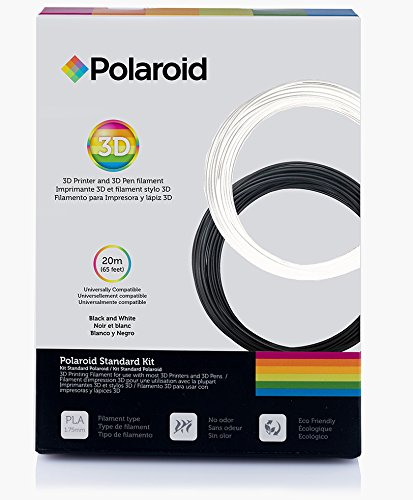 Amazon.com: Polaroid FILKITSTD Standard PLA Filament Kit ...