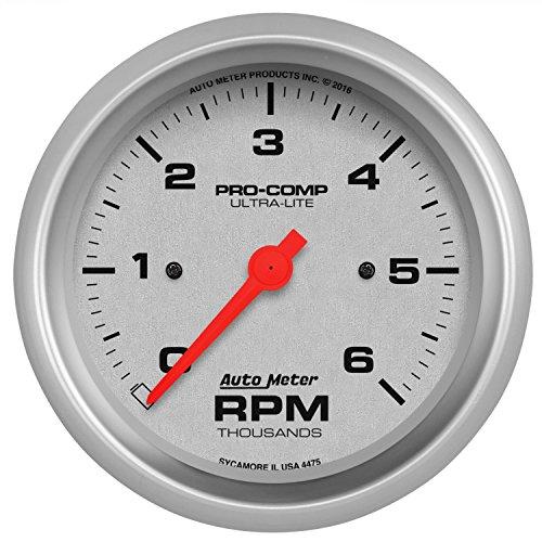- Auto Meter 4475 Ultra-Liteii 6K Tach