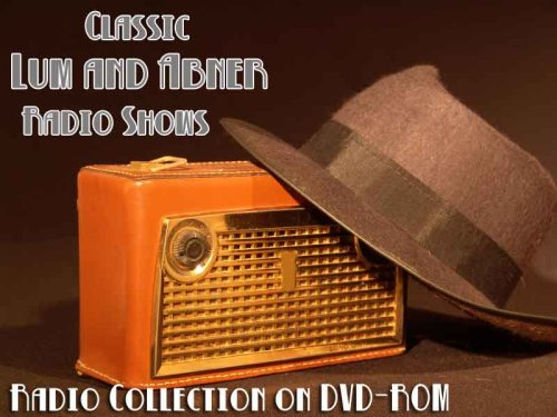 277 Classic Lum and Abner Old Time Radio Broadcasts on DVD (over 54 Hours 48 Minutes running time) (Best Stand Up Comedy Dvds Of All Time)