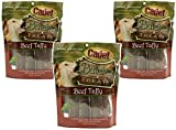 (3 Pack) Cadet Beef Taffy Dog Treats, 8 Ounces each For Sale