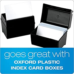 Oxford Blank Index Cards, 5\