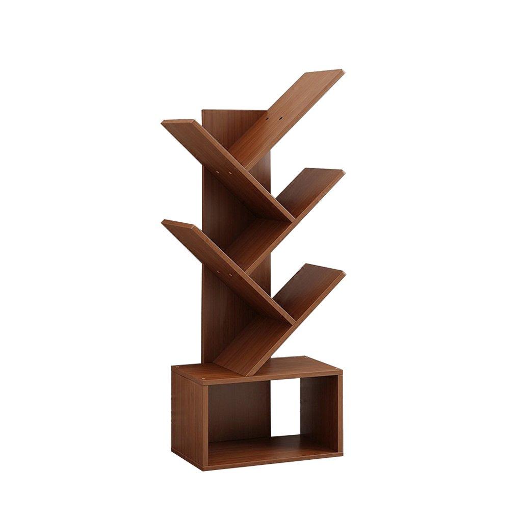 ZWJXF Xufei Bambusbaum-Landungs-Bücherregal, kreativer Studenten-Moderner Bücherschrank - Schön und praktisch (Größe   4020107cm)  4020107cm