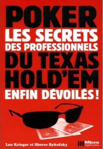 Read Online poker ; les secrets des professionnels du texas hold'em enfin dévoilés PDF
