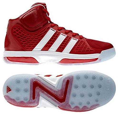 Adidas Adipower Howard Men's Basketball Shoes , (Red/White/White) 16 D(M) US by adidas