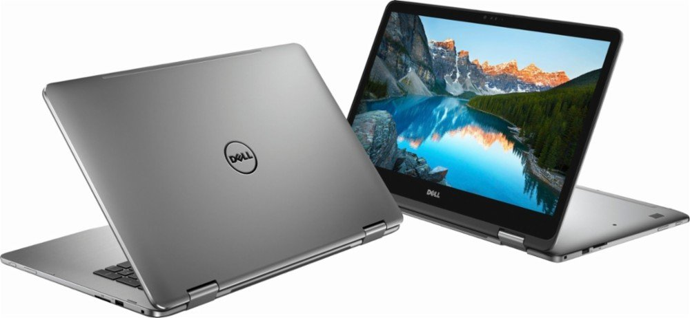 Dell Inspiron I7773 2-in-1 17.3'' FHD Touch Screen Laptop Upgrade 8th Gen Intel i7-8550U NVIDIA GeForce MX150 with 2GB GDDR5 USB-C Port Best Notebook Stylus Pen Light (3TB SSD 32GB RAM 10 PRO) by Inspiron 17 7773 2-in-1 (Image #2)