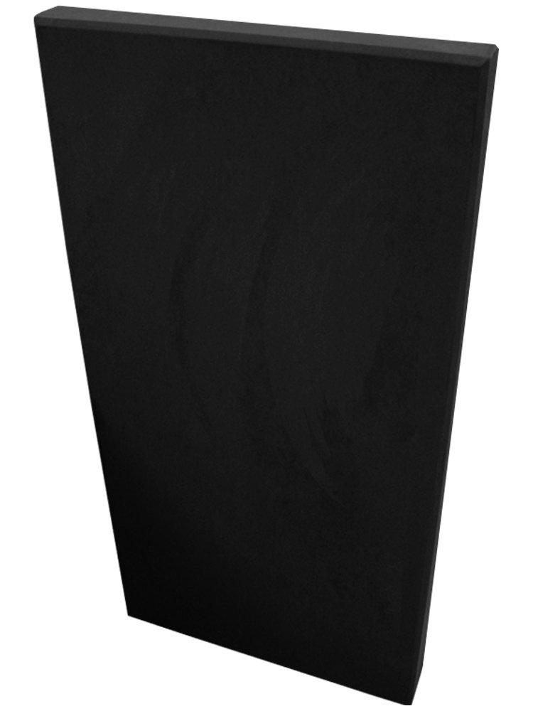 Acoustimac Sound Absorbing Acoustic Panel SUEDE 4' x 2' x 2'' BLACK