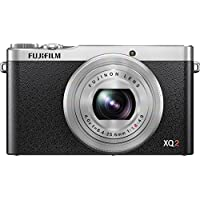 Fujifilm XQ2 Silver Digital Camera with 3-Inch LCD Overview Review Image
