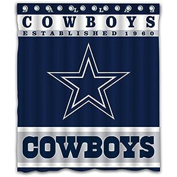 Superieur Sonaby Custom Dallas Cowboys Waterproof Fabric Shower Curtain For Bathroom  Decoration (60x72 Inches)