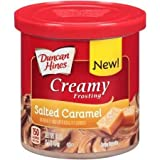 Duncan Hines, Creamy Frosting, Salted Caramel, 16oz Tub (Pack of 3)