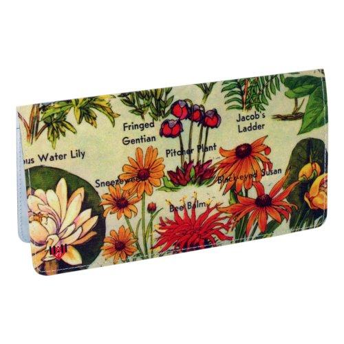 - American Wildflowers Checkbook Cover