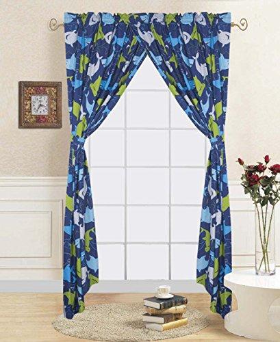Shark Window Curtains   1