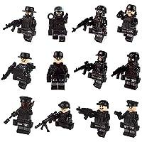 color mogu Minifigures Set Building Bricks Mini People...