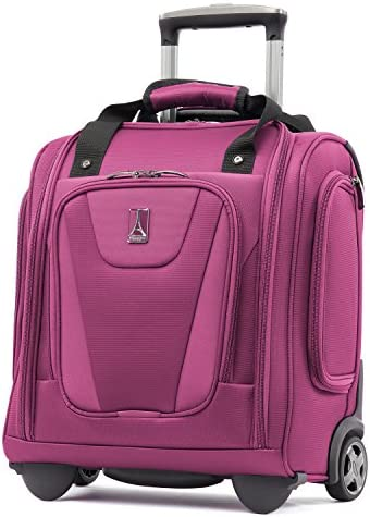 Travelpro Maxlite 4 – Rolling Underseat Carry-On Tote Bag, Magenta, One Size
