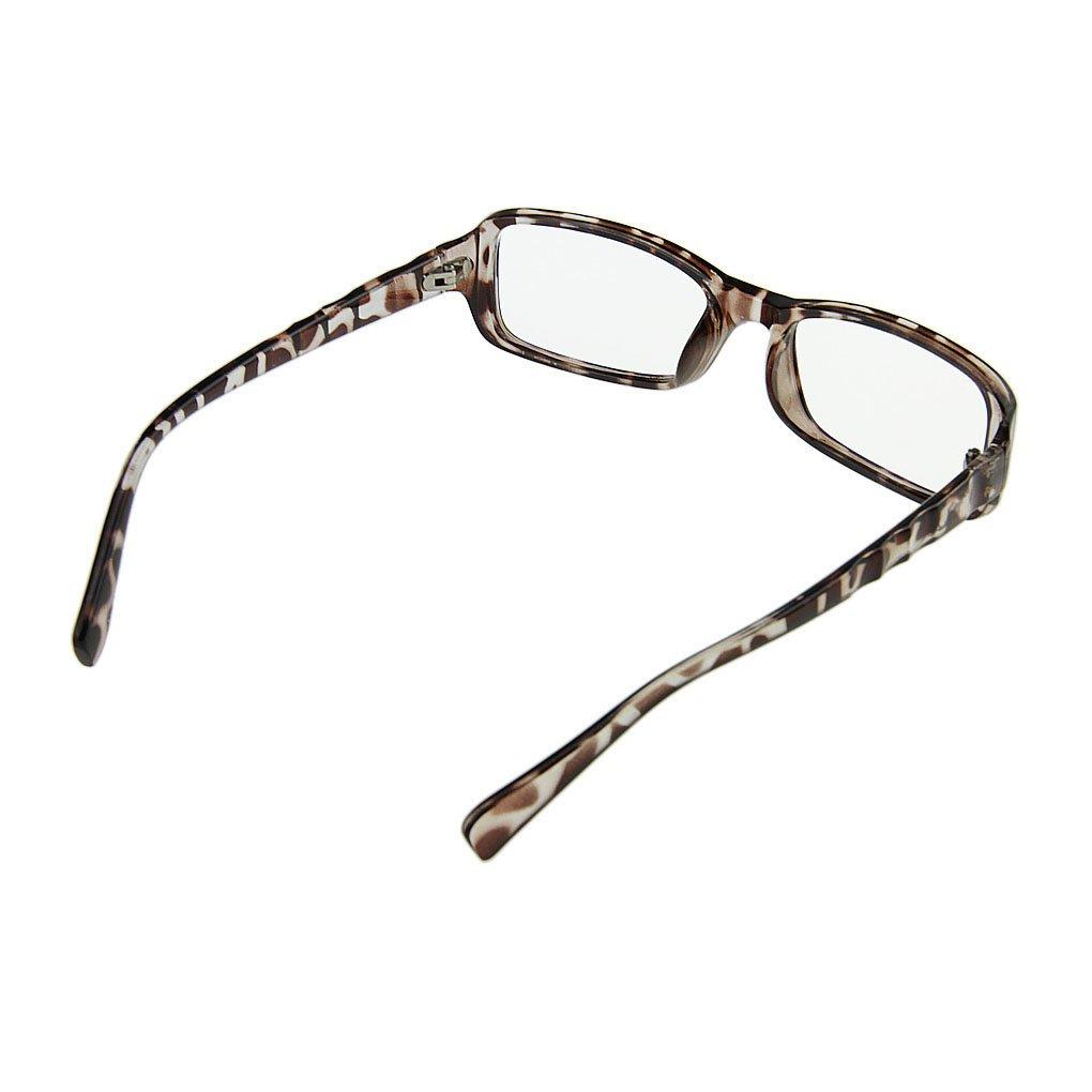 BXT Unisex Trendige Nerdbrille Sonnenbrille Lesebrille Wayfarer ...