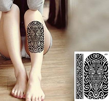 Tribal Tattoo Negro temporär brazo Brazo tatuaje pegatinas j521 ...