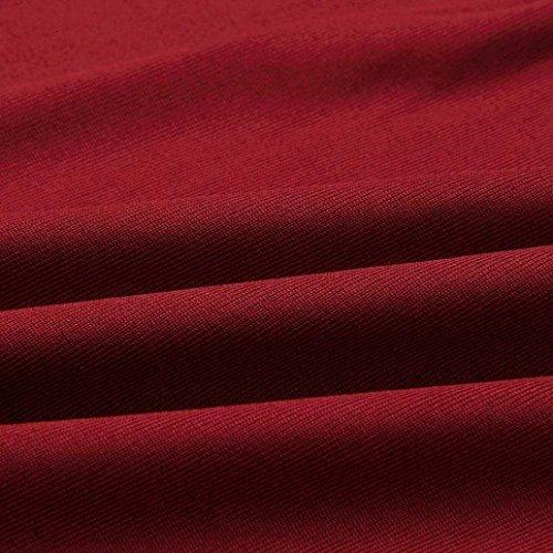 Resplend Femme Rouge Chemisier langarmshirt Bordeaux qSPqr1fw