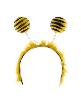 Mot Kostüm Zubehör Handschuhe Biene Karneval Fasching