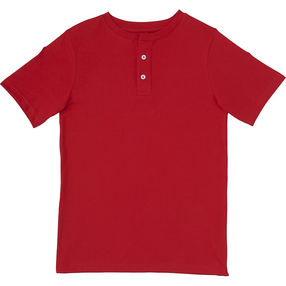 French Toast Boys' Short Sleeve Basic Henley French Toast Sportswear Children' s Apparel LA3605