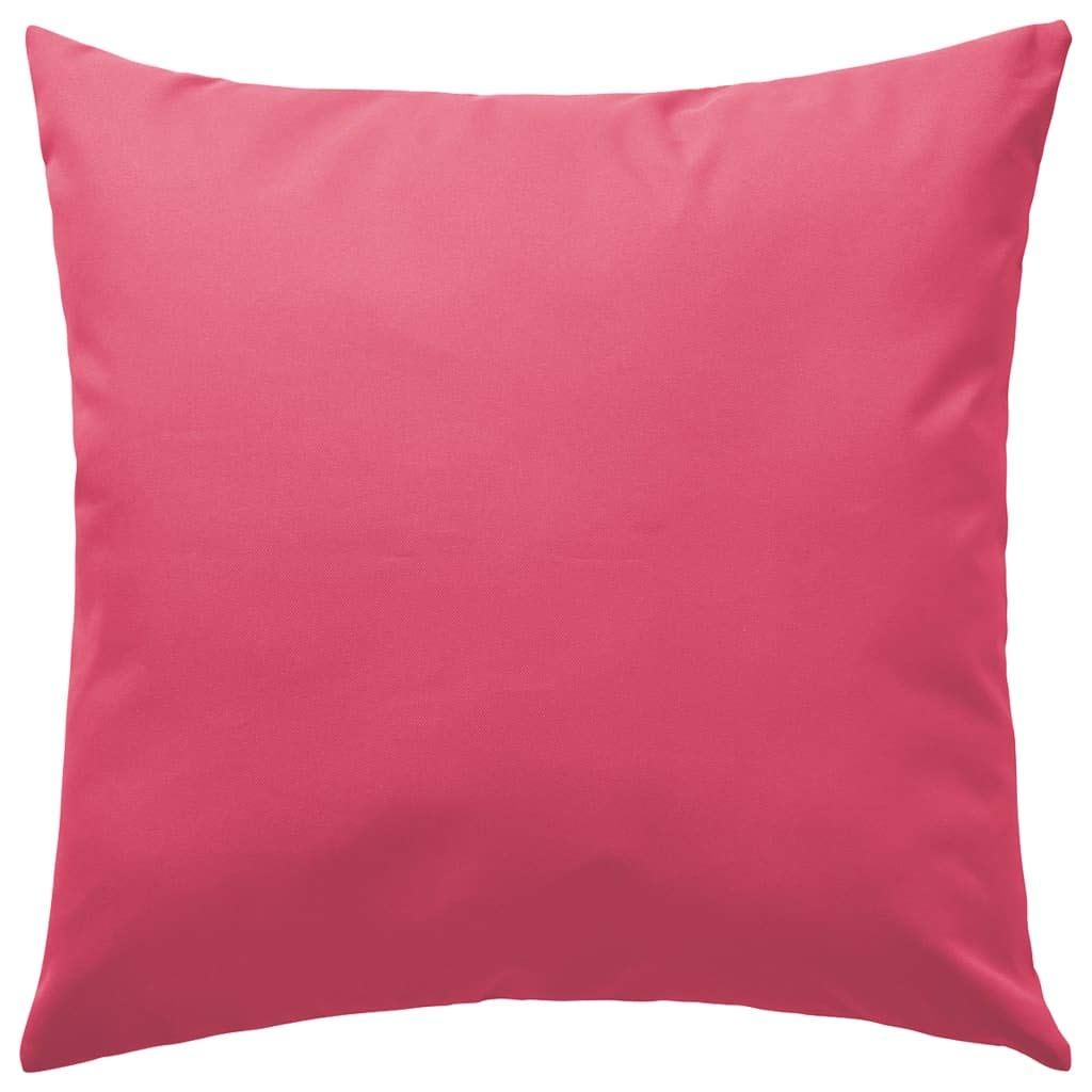 Festnight 2 pz Cuscini da Esterno 60x60 cm Rosa