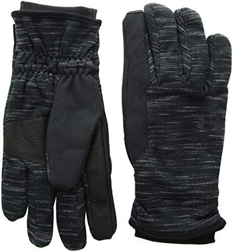 Under Armour Men's CGI Elements Glove, Black (001)/Black, Large