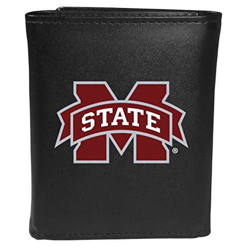(Siskiyou Sports NCAA Mississippi State Bulldogs Tri-fold Wallet Large Logo,)