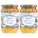 Yehuda Sweet Gefilte Fish, 24oz (2 Pack) Kosher for Passover