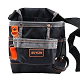 SUYIZN 8 Pockets Tools Belt, Electrician Tool Pouch with Adjustable Belt, Maintenance Tool Bag - A Good Helper for Organizing Tools