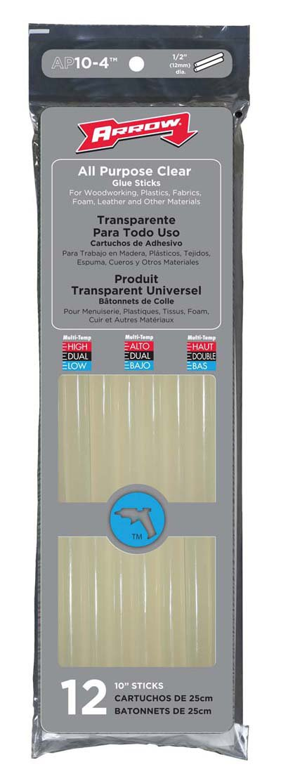 Arrow Fastener AP10BP 10-Inch Hot Melt Glue Stix, 5-Pound Box