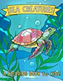 Sea Creatures: A Coloring Book for
